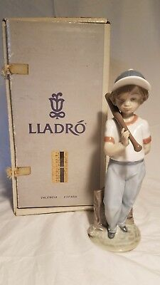 """Lladro Porcelain Figurine #7610 """"Can I Play"""" Retired WITH BOX"""