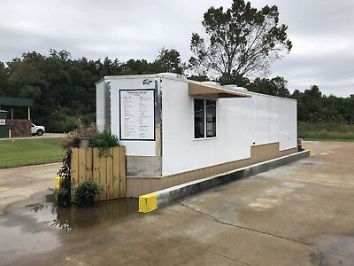 New 8.5 X 32 32' Enclosed Concession Food Vending Bbq Mobile Kitchen Trailer