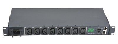 *NEW MRV LX-5250-8H1C20 8 Outlet PDU Sentry Switched Cabinet Distribution Unit
