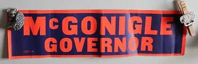 4 Vintage Pennsylvania Mcgonigle Governor Bumper Sticker Allied Printing