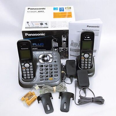 Panasonic KX-TG6582 Wireless/Cordless Phone Answering Machine System