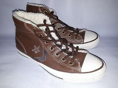 NWOB Converse All Star Unisex Genuine Leather High Top Factory Defect
