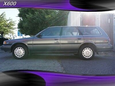 1991 Camry Deluxe Wagon 1 Owner Toyota Camry Gray Metallic with 142,503 Miles, for sale!