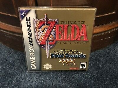 Nintendo GameBoy Advance The Legend of Zelda A Link To The Past +CLEAR PROTECTOR