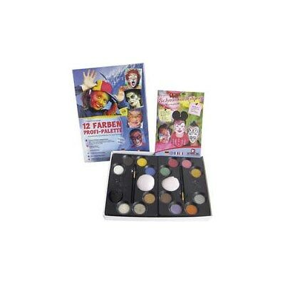 Water Makeup Set with step-by-step, asstd colours, professionel, 1set [HOB-76131