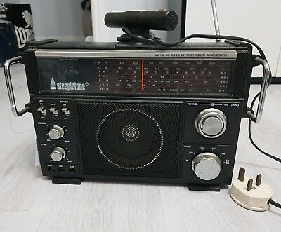 Vintage Steepletone Multiband Radio model no MBR7
