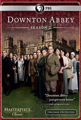 Downton Abbey Season 2 TWO SECOND DVD 3-Disc Set NEW SEALED FREE SHIPPING