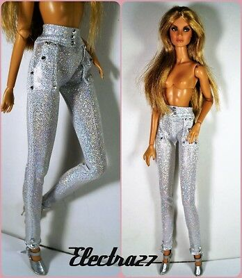 OOAK handmade trousers for Fashion Royalty FR2 Nuface and similar doll 12""
