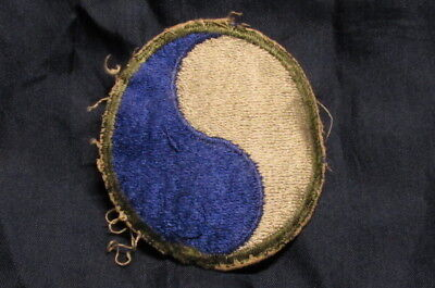 WWII US Army 29th infantry Division Patch from Uniform