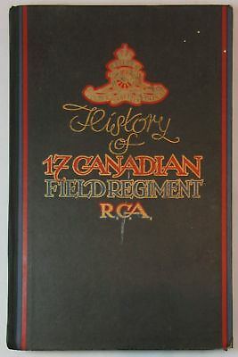 1946 History of 17 Canadian Field Regiment RCA 5th Canadian Armoured Division