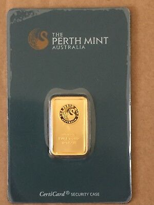 Australian Perth Mint 10g Gold Bullion Bar