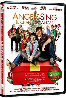 NEW CHRISTMAS DVD - ANGEL'S SING -  Harry Connick Jr., Connie Britton, Chandler