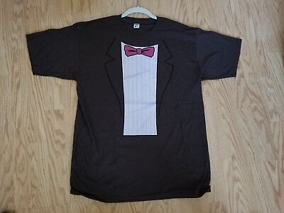 TeeFury - Matt Smith - 11th Doctor - Doctor Who - Bow Tie's are Cool T-shirt (L)