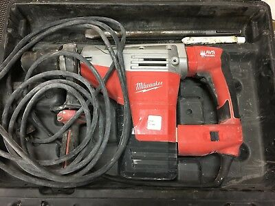 Pre-owned Milwaukee K 545 S Rotary Hammer Drill in Case