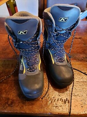 Klim Adrenaline GTX Men's Boots Sz 14 US Thinsulate Ultra Insulation Snowmobile