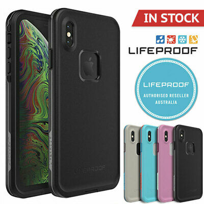 iPhone XS XS Max Case Genuine Lifeproof Fre Shock Water proof Cover For Apple