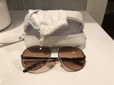 OAKLEY FEEDBACK AVIATOR SUNGLASSES Rose gold / BrownOO4079-01