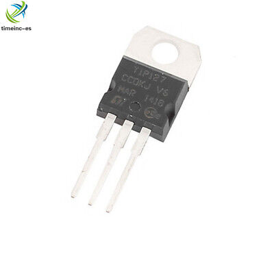 5PCS NEW TIP127 TO-220 100V 5A Transistor Complementary PNP IC TIP127