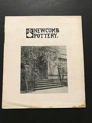 Early Original Newcomb College Arts & Crafts Pottery Booklet