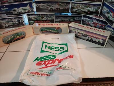 Inherited Toy Hess truck collection