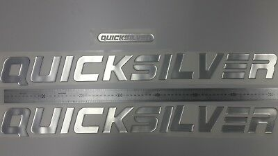 """QUICKSILVER boat Emblem 29"""" + FREE FAST delivery DHL express - stickers decal"""