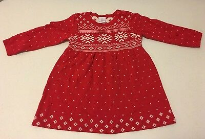 c19ff8c62d HANNA ANDERSSON FAIR Isle Christmas Holiday Sweater Dress Size 80 ...