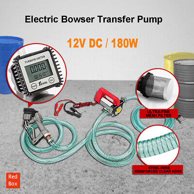 Auto Diesel Water BioDiesel Fuel 12V Electric Bowser Transfer Pump