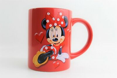 """Red Minnie Mouse Mug Cup, Walt Disney by Jerry Leigh, """"It's All About Me"""" Used."""
