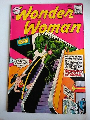 1964 #148 DC WONDER WOMAN UNREAD COMICS SUPER COLORS 12¢ wonder girl boy-friends