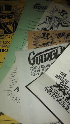 Vintage Tattoo Flash Guideline Catalog Supplement Flyers Mike Malone1978 1980