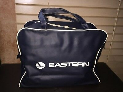 Retro EASTERN AIRLINES Carry On Luggage Bag Mid-Century Airline Collectible