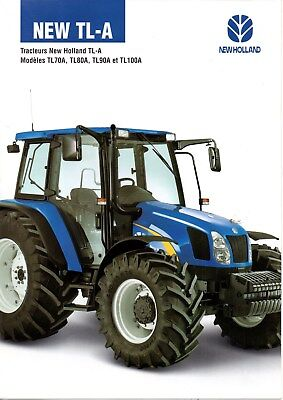 F-Prospectus Tracteur New Holland Tl-A