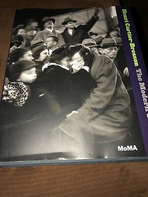 Henri Cartier-Bresson  MOMA Modern Century Life Printed In Germany 376 Pages!