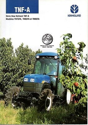 F-Brochure Tracteur New Holland Tnf-A