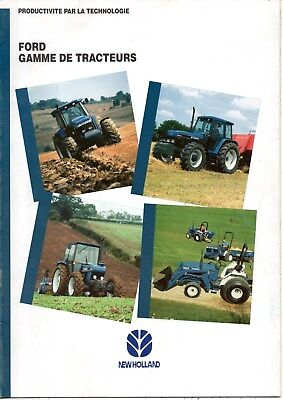 F-Brochure Tracteur New Holland Gamme Ford