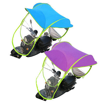 Car Motorcycle Bike Scooter Umbrella Mobility Sun Shade Rain Cover Safe DIY Tool