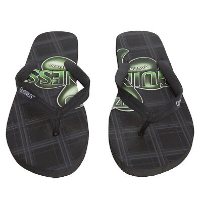 c053d62abf5 NEW Rare GUINNESS Beer flip flop Sandals  XL 11-12us  new castle irish