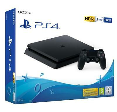 Console Playstation 4 PS4 Slim 500 Gb F Chassis Black