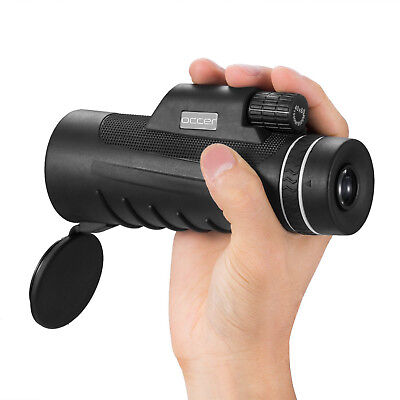 Occer 10X42 High Power Monocular Telescope, HD Dual Focus, Waterproof, Compact