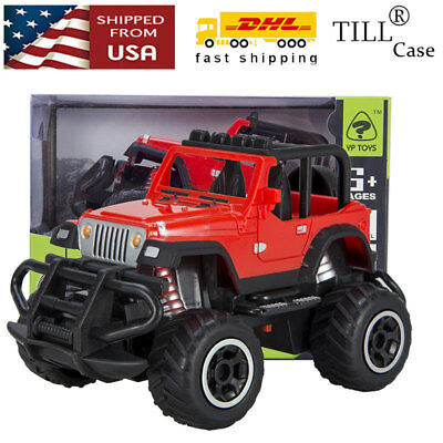 Red Jeep Car Kids Toy Gift Drift Speed Radio w/ Remote Control RC Car Vehicle