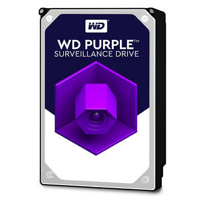 "Western Digital Surveilance 3.5"" Drive: 3tb Purple Sata3 6gb/ S Intellipower 64"