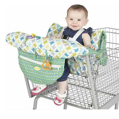 Baby Kids Shopping Trolley Cart Seat Pad Child High Chair Cover Protector Belt