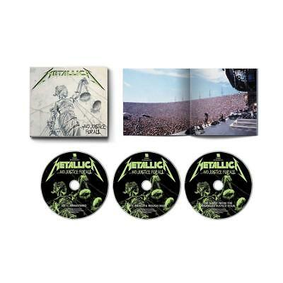 Metallica And Justice For All 3 Cd Expanded Edition 2018