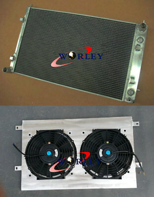 52MM For HOLDEN VY COMMODORE SS 5.7L GEN 3 V8 LS1 2002-2004 Radiator+shroud+fans