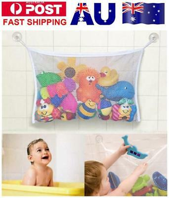 Baby Shower Bath Bathtub Toy Mesh Net Storage Bag Organizer Holder Bathroom