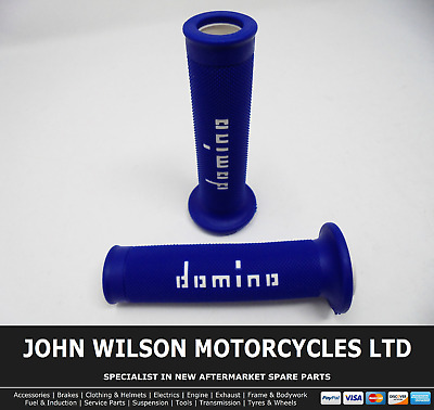 Yellow To Fit Yamaha YZF-R125 Domino XM2 Grips Blue