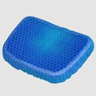 Soft Support Cushion Breathable Honeycomb Gel Flex Office/Home/Car Seat Cushion