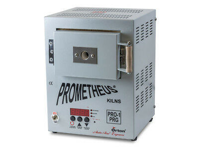 Prometheus Mini Metal Clay Electric Kiln Pro-1 PRG WITH TIMER w/ EU Plug