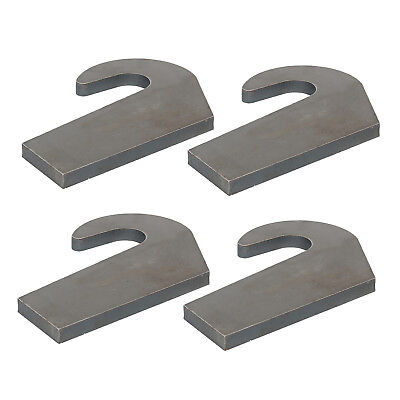 4 Mounting Brackets for Pin Type over the Bucket Loader Pallet Forks Weld On NEW