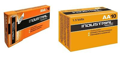 Batterie Duracell Industrial Procell Pile Alcaline mini Stilo 10 AAA + 10 AA